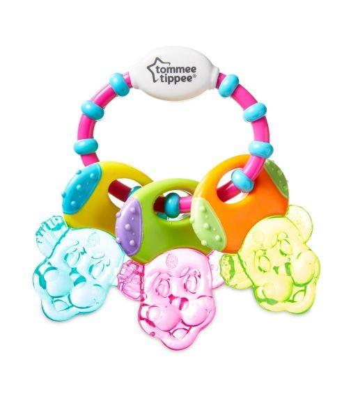 TOMMEE TIPPEE Teethe N Play Water Teether - Multi Color
