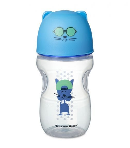 TOMMEE TIPPEE Soft Sippee Free Flow Transition Cup Blue 300 ML