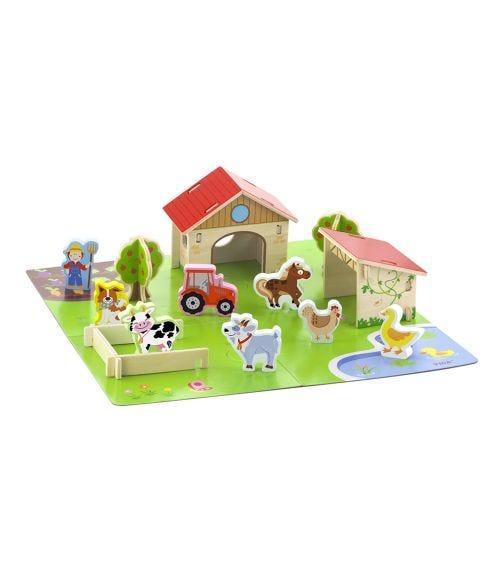 VIGA 3D Wooden Farm