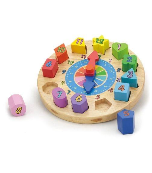 VIGA 2In1 Clock Puzzle