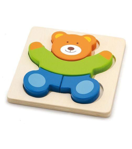 VIGA Handy Block Puzzle Bear