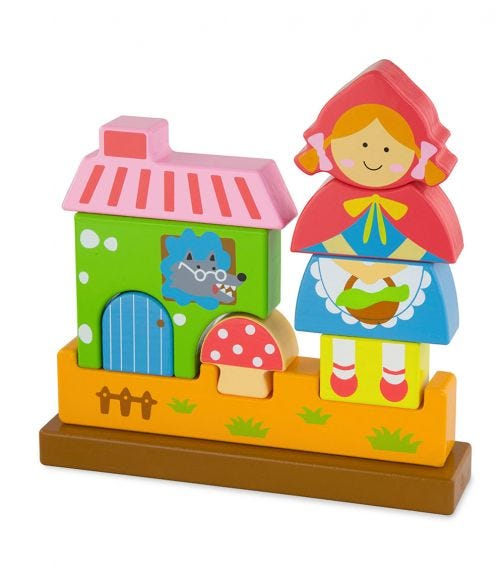 VIGA 3D Magnetic Standing Puzzle Red Riding Hood