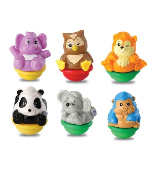 VTECH Assortment -Zoomizooz Forest Pack Of 6