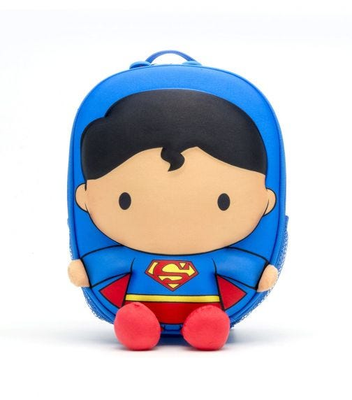 WELLITECH DC Justice League Superman Kid's Backpack