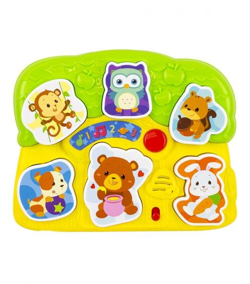 WINFUN Lights N Sounds Animal Puzzle