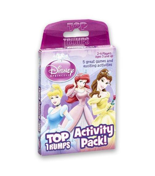 WINNING MOVES Top Trumps Disney Princess Activity Pack