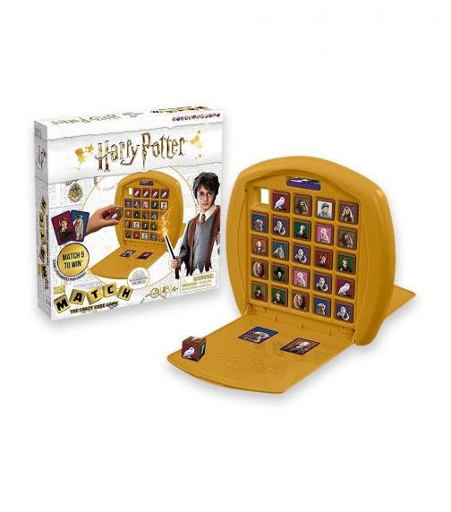 WINNING MOVES Top Trumps Match Harry Potter Wave 2