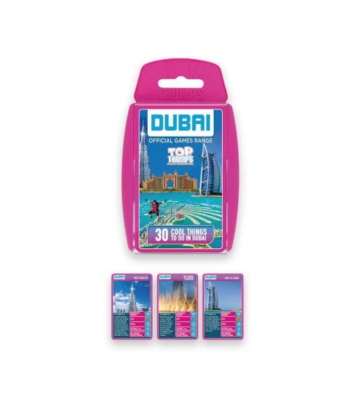 WINNING MOVES Top Trumps Dubai Top 30 Cool Things