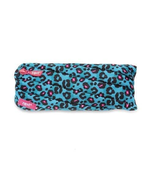 ZIPIT Pencil Casepouch Fresh Twister Pouch Leopard