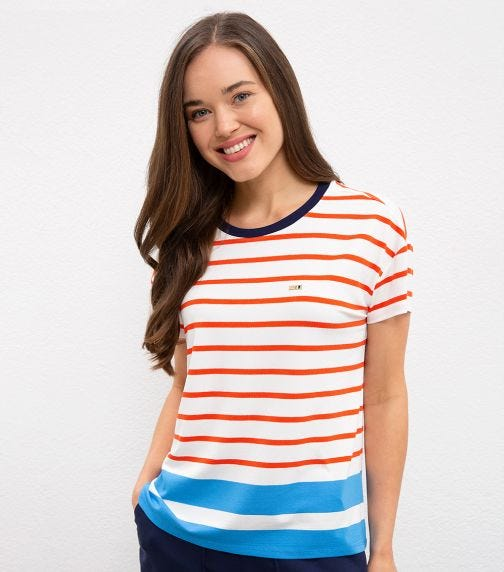 US POLO ASSN. - Classic T Shirt Stripes