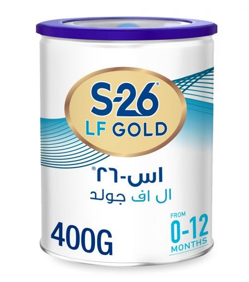 WYETH S26 Luff. Gold Special Infant Formula - Lactose Free (0-6 Months) - 400 G