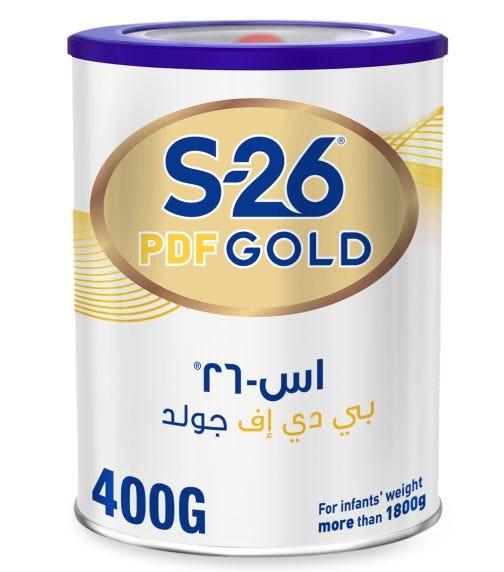 WYETH S26 Puff Gold Post Discharge Formula Tin - 400 G