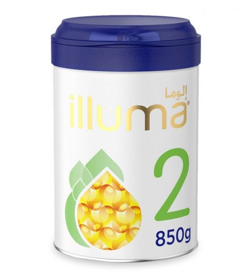 WYETH Illuma HMO Stage 2 (6-12 Months) Super Premium Follow-On Formula - 850 G