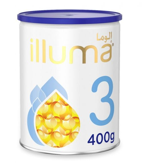 WYETH Illuma HMO Stage 3 (1-3 Years) Super Premium Milk Powder - 400 G