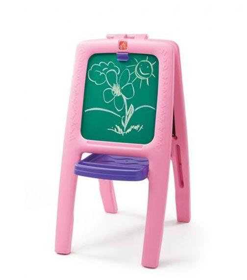 STEP 2 Easel For Two (Pink)