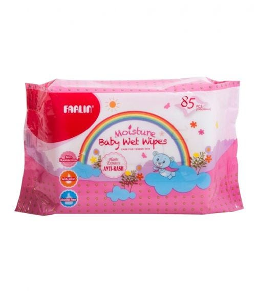 KOLCRAFT Baby Wet Wipes Anti Rash