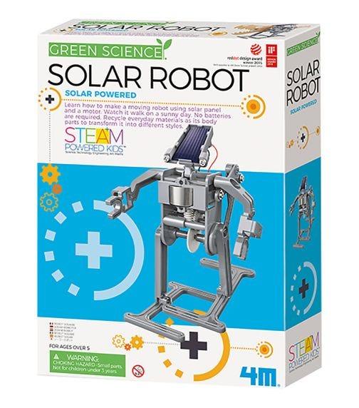 4M Kidz Labs Green Science Solar Robot