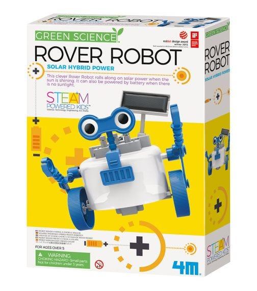 4M Hybrid Solar Engineering Rover Robot