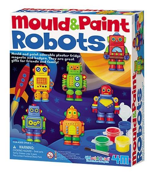 4M Mold & Paint Robots