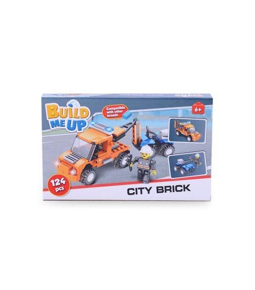 HAPPY LINE Blocks 124 Pieces - City