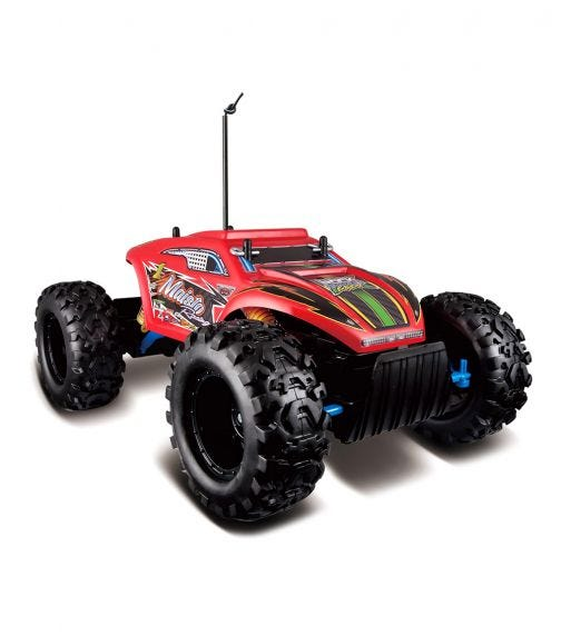 MAISTO TECH RC Rock Crawler Extreme Blister Body With Battery Charger