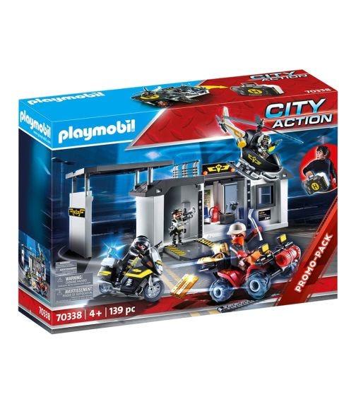 PLAYMOBIL Take Along Tactical Unit Headquarters
