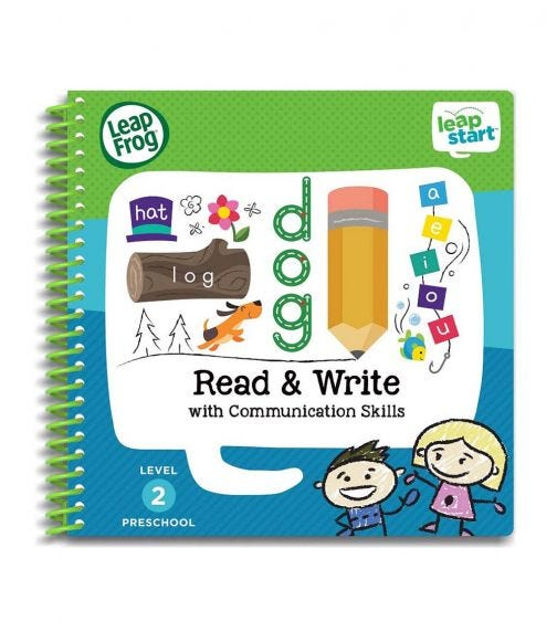 LEAP FROG Leapstart Read Write With Communication Skills 30 Page Activity Book