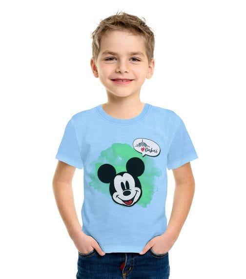 DISNEY Mickey UAE Boys T-Shirt - Light Blue