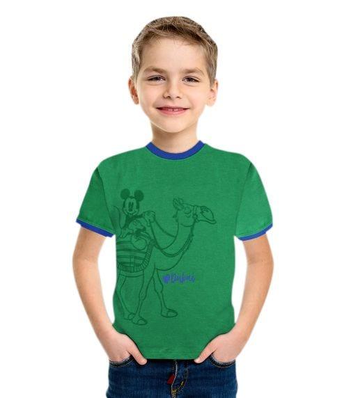 DISNEY Mickey UAE Boys T-Shirt - Green