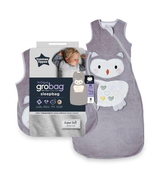 THE GRO COMPANY  Gro Baby Sleep Bag 1836 Months 1 Tog Ollie The Owl