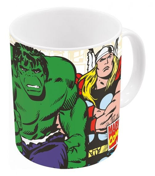 AVENGERS Disney Comic Mug11Oz