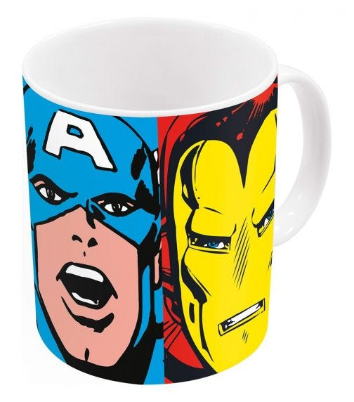 AVENGERS Disney Hulk Iron Man Avengers Mug 11Oz