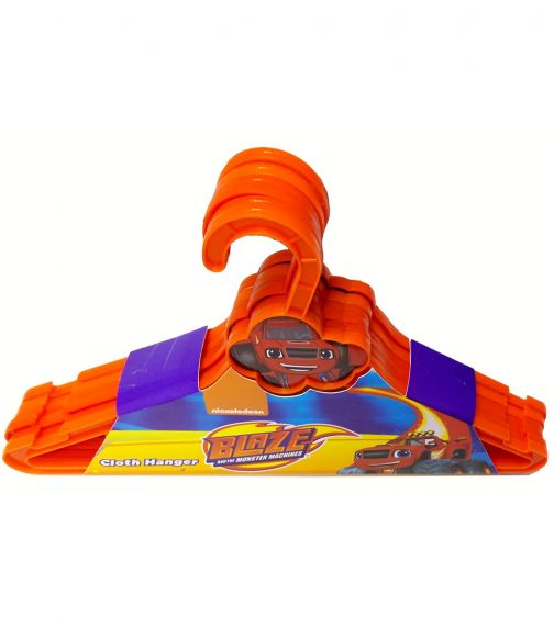 BLAZE Nickelodeon Cloth Hanger Cloud 6 Pieces Set