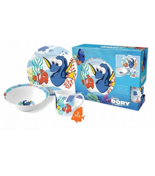 DORY Disney Finding Dory Dinner 3 Pieces Set