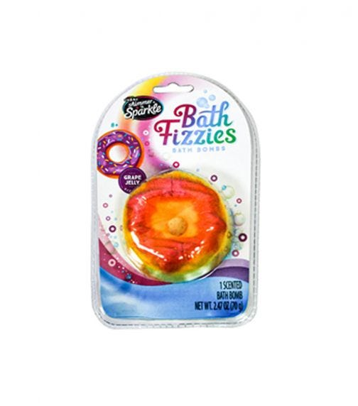 SHIMMER 'N SPARKLE Bath Fizzies Grape Jelly
