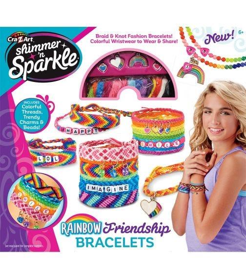 SHIMMER 'N SPARKLE Make Your Own Friendship Bracelet Kit