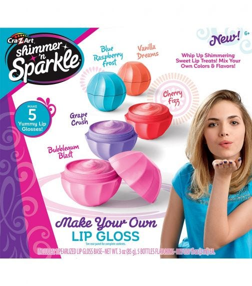 SHIMMER 'N SPARKLE Make Your Own Sweet Lip Treats