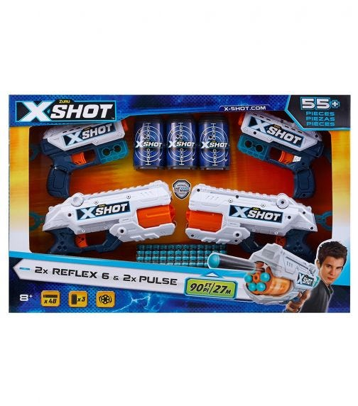 X-SHOT Excel Combo Pack 2 - Kickback