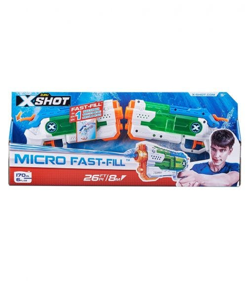 X-SHOT Fast Fil Combo Pack - Small 2 Pieces