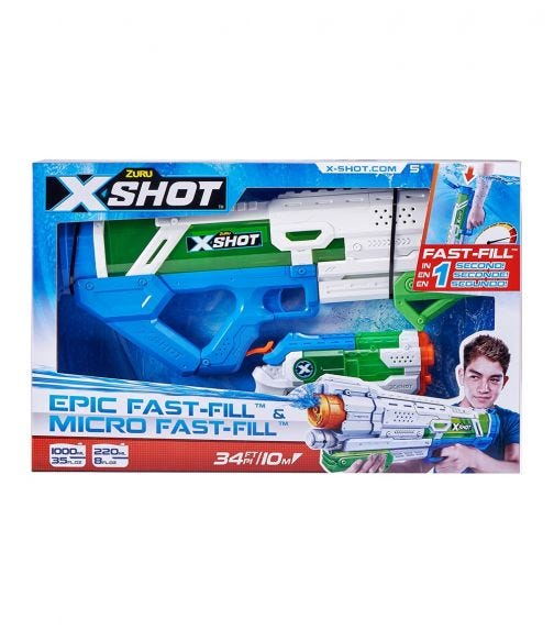 X-SHOT Fast Fill Combo Pack Large