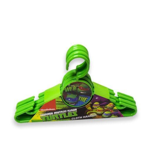 NINJA TURTLE Nickelodeon Cloth Hanger Round 6 Pieces Set