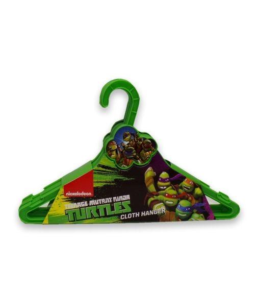 NINJA TURTLE Nickelodeon Cloth Hanger Cloud 6 Pieces Set