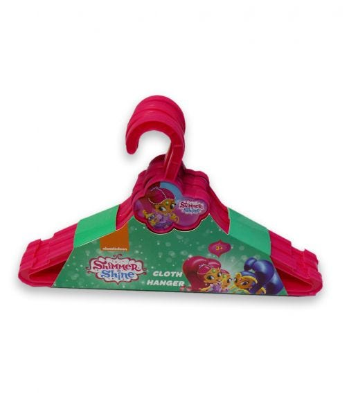 SHIMMER 'N SPARKLE Nickelodeon Cloth Hanger Cloud 6 Pieces Set