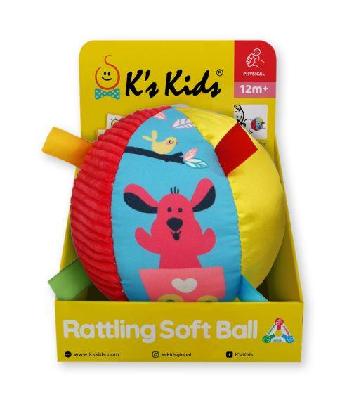 K'S KIDS Rattling Soft Ball
