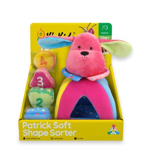 K'S KIDS Patrick Soft Shape Sorter