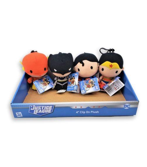 "DC COMICS Yume Chibi 4"" DC Comics Assorted With Clip"