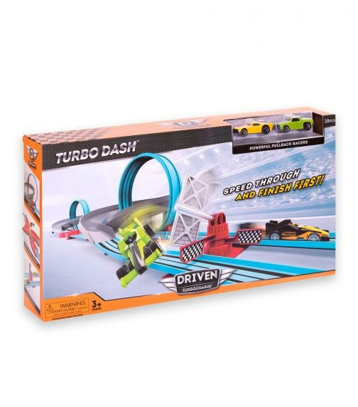 DRIVEN Drag Race Track Playset
