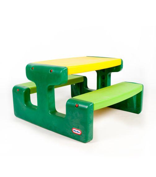 LITTLE TIKES Picnic Table Evergreen