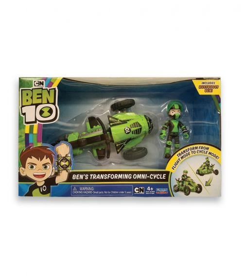 BEN 10 Transforming Vehicle With Figure