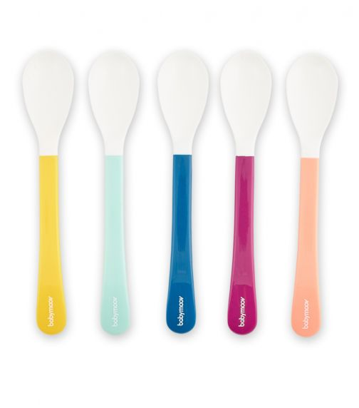 BABYMOOV Set Of 5 Spoons (2nd Age) - Multicolor